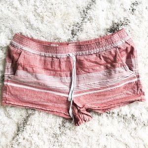 LOFT linen running shorts